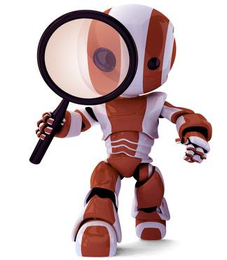 посмотреть как поисковый робот